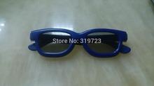 Cheap 3D glasses! 5Pcs/Lot Passive glasses Polarized 3D Glasses For REAL D Cinema 3D LG TV Free Shipping Circular Polarized glas(China (Mainland))