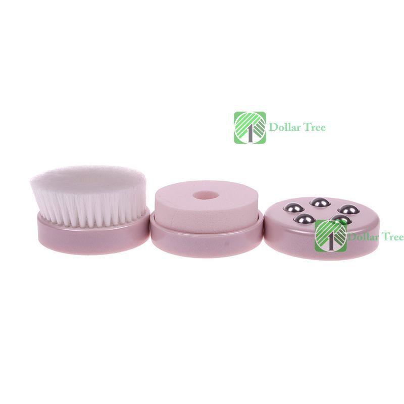 Dollartree profissional! Usb exigível massagem facial elétrica impermeável máquina de limpeza de pele nova(China (Mainland))