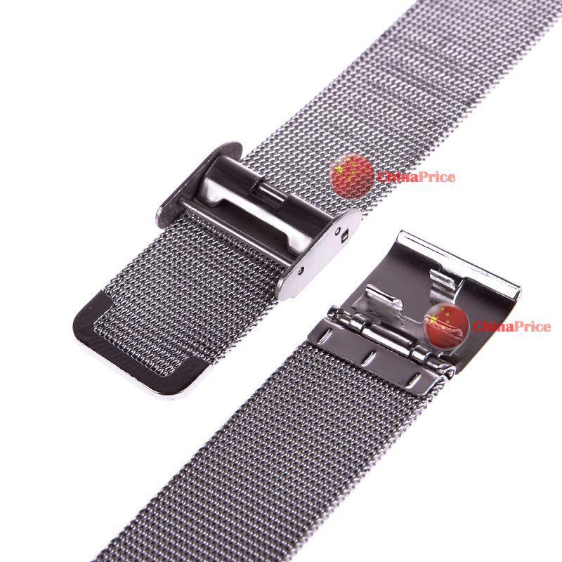 Chinaprice mais barato! Novo relógio do aço inoxidável pulseiras de malha cinta banda colorido artesanato perfeito!!(China (Mainland))