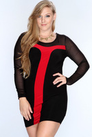 Free Shipping 2014 Winter New Arrival Ladies' Sexy Baby Dolls Club Dresses Women's Party Dress Girls' Clubwear For Party