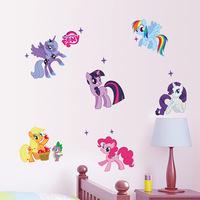 1425 new best selling hot sale My Little Pony kids room nursery wall stickers custom wholesale,