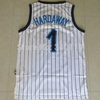 Free Shipping Orlando Jersey Penny Hardaway #1 Cheap Throwback Basketball Jerseys Embroidery Logo USA Retro Basketball Jersey
