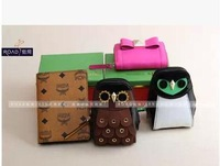 RO012 Hipster small gifts owl penguin  clutch zipper Coin Purses  Drop shipping /Wholesale Free Shipping