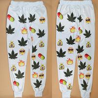New emoji joggers pants style print cartoon women joggers emoji Pants sweatpants trousers sportswear sport vestidos femininos