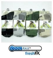 Brand men quick-drying sports socks coolmax hiking socks winter thick ski sock cotton women wlfskin/Wolf thermo trekking socks