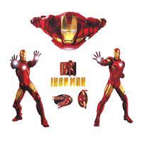9068  Iron Man boys kids room iron man wall sticker large wall stickers hot sale factory customization