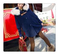 2014 50% discount  Pregnant women maternity fashion loose hooded winter  autumn cloth coat clothing for pregant women free ship