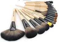 New 2014 Professional Cosmetics Brushes Set 24 Pieces Eyeliner Brush Set Pinceau Stage Makeup Tools Bag Make Up Brush Sets