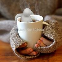 10pcs Mr Tea Infuser/Tea Strainer /Silicone FRED Mr Tea Filter