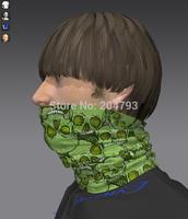 skull tube magic bandana, high qualtiy headwear