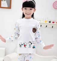 kids pajamas Unisex casual leisurewear 100% cotton variety of pattern pijamas boy free shipping