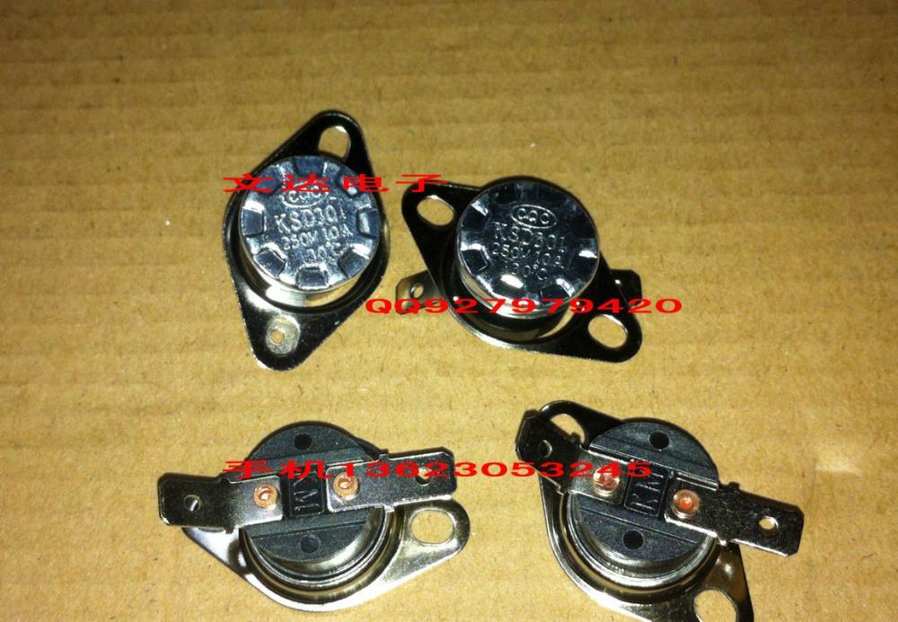 entrega gratuita. chaleira termostato controle de temperatura switch ksd301 130 graus slipknot nc(China (Mainland))