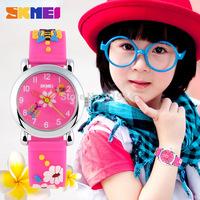 Free shipping 2015 fashion casual kid watch quartz Cartoon Wristwatches 4 colors