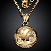 KZCN001-AB // // beautiful hot sale Factory Price Necklace , Wholesale fashion jewelry Chain gold plated Necklace