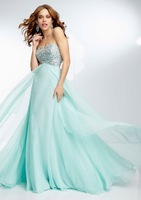 High quality with beads long evening dress for new year bg_95053