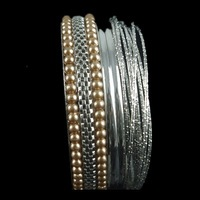 Bracelets Bangles Sets for Women (3style/11pcs/set ) Top Selling  Environmental protection alloy Bracelets