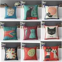 Personalized animal cushion sofa pillow fluid cushion office sofa cushion sedan cushion