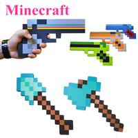 2015 Newest Design Minecraft Toys High Quality Minecraft Sword Pickaxe Axe Gun EVA Model Toys Sword Toys Children Gifts Toys