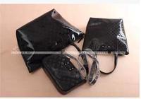 RO042 Fashion printing  beach hearts three-piece bag  PU zipper Sling Bag Sling Bag  Drop shipping /Wholesale Free Shipping