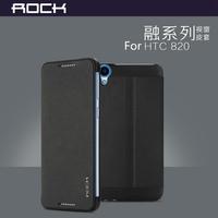 Original Rock High Quailty Eminent Series Flip Cover Case For HTC Desire 820,3 Color!