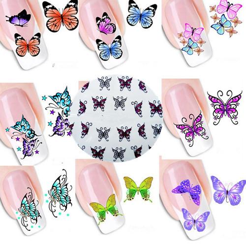 Наклейки для ногтей New Brand 30 3D DIY XF1201-XF1220 наклейки для ногтей brand new 50 3d fimo diy n a
