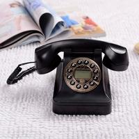 Classic Fashion Creativity Telephone Caller ID Telephone Old Vintage Antique Retro Telephone Free Shipping