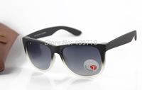 2015 New Brand Sunglass Men's/Women's Fashion 4165 JUSTIN Gradient Black Sunglass Grey Lens Polarized 53mm Box