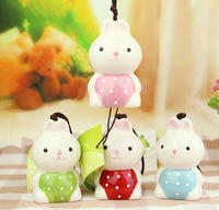 4pcs Fashionable household decoration lovely rabbit mobile widgets that ceramic arts and crafts JYS26