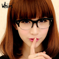 Free Shipping WHIM Japanese Style Men And Women Eyeglass Frame Italy Plate Myopia Glasses Frame