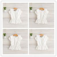 Hu Sunshine wholesale 2014  new arrival summer fashion short-sleeve cotton white slim t-shirt solid color white WW11272590H