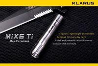 Klarus MiX6 Ti Mini AAA Flashlight CREE XP-G R5 LED 85lm TitaniumTorch