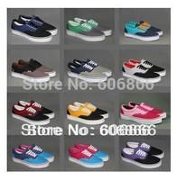 hot sale 2015 Unisex Canvas Shoes Low-top Sneakers Shoes for Men's and Women's shoes  mixcolor shoes