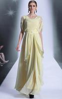 CJ0198 Top Quality A-line Applique Floor Length Vestidos Largo Women Evening Dress Special Occasion Dresses 2015