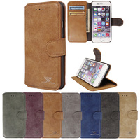 "Newly stylish Premium Leather Slim Practical Wallet Phone Case Cover For iPhone 6 ( 4.7"") with Credit/Bussiness/ID Card Holder"