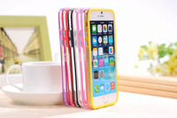 Slim Soft TPU Bumper frame case cover side protection for iPhone 6 plus 4.7 for Samsung S5