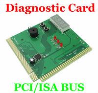 4 Digit PCI & ISA PC Computer Motherboard Analyzer Tester Diagnostic Debug POST Card