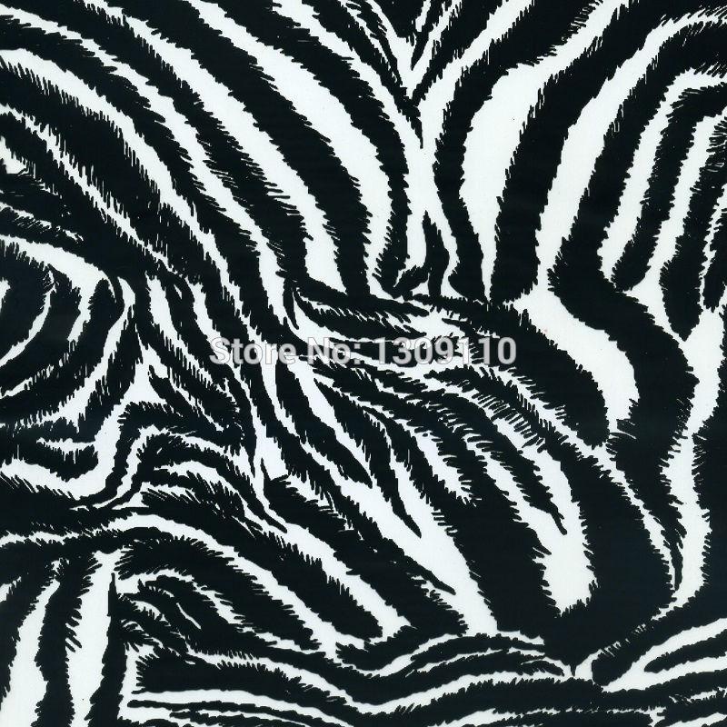Hot fashionable black&white zebra-stripe water transfer printing film hydrographic film.decorative material.width100cm,MA144-1(China (Mainland))