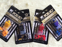 100pcs/lot colorful fox 4 classic whistle WITH LANYARD and CMG mouthpiece in BLACK  card Blister packing