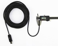 7M Cable Mini USB Endoscope Camera Snake Pipe Camera With 7MM 6 LEDs Night Vision