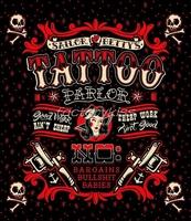 Free Shipping Polyester Tattoo Skull Sailor Bettys Pattern Shower Curtain Bath Curtain 180*200cm 5 4007-076
