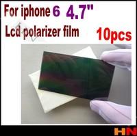 10pcs for iPhone 6 4.7inch 4.7'' LCD Polarizer Film Polarization Polarized Light Film for iPhone 6G
