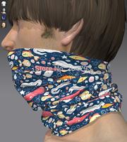 multifunctional seamless tube bandana