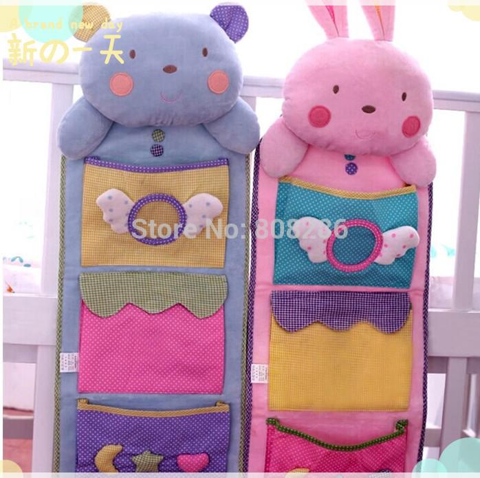 Детские товары карманный кровать организатор висит сумка ...