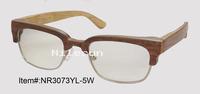 hot selling wood optical glasses