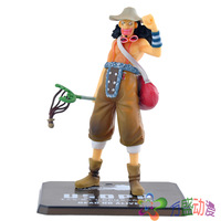 free shipping anime one piece action figure model toys  PVC dolls  Usopp After 2 Years 14cm with box