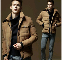M-4xl,in Stock,2014 Winter Jacket Men Padding Cotton Casual Down Jacket Parkas Warm Outdoors Thick Outwear Coats Jackets For Men