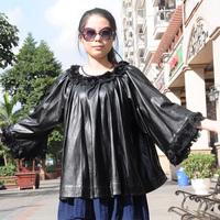 Женская одежда из кожи и замши Xiao Tiao o Jaqueta Couro XT02455