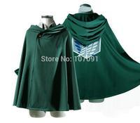 New Style Pro Anime Shingeki no Kyojin Cloak Cape clothes cosplay Attack on Titan
