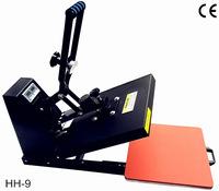 Heat Transfer/Press Machine,HH Printer,Print Fabric,Non woven,Textile,Cotton,Nylon,Terylene,Glass,Metal,Ceramic,Wood,L500*W400mm