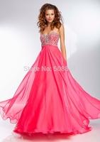 Popular latest design online party dress long red evening dress bg_95066